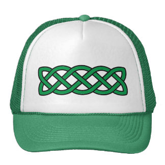 Irish Green Celtic Knot Band St. Patrick's Day Cap