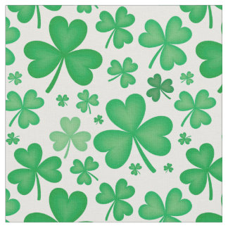 Shamrock Fabric For Sewing Quilting Amp Crafts Zazzle Co Uk