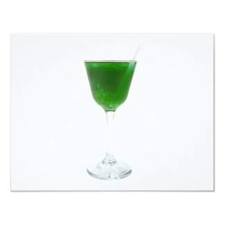 Irish Green Wine 11 Cm X 14 Cm Invitation Card