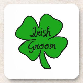 Irish Groom Beverage Coasters