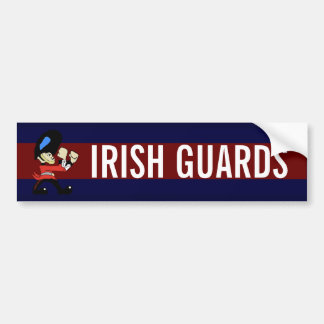 IRISH GUARDS BUMPER STICKER