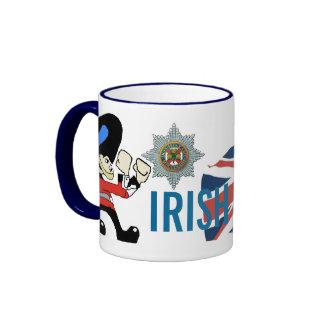IRISH GUARDS RINGER MUG