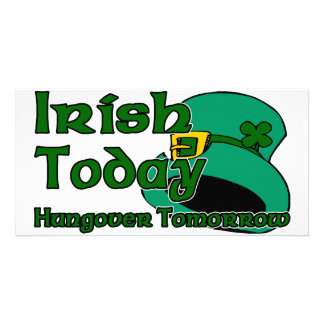 Irish Hangover Photo Greeting Card