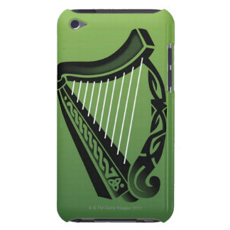 Irish harp barely there iPod cases