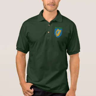 Irish Harp Polo Shirt