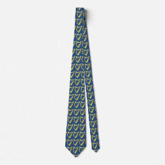 Irish Harp Tie