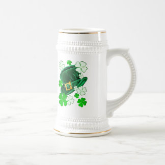 Irish Hat and Shamrocks Shirts Mugs