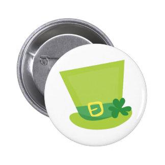 Irish Hat 6 Cm Round Badge