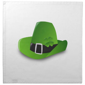 Irish Hat Printed Napkin