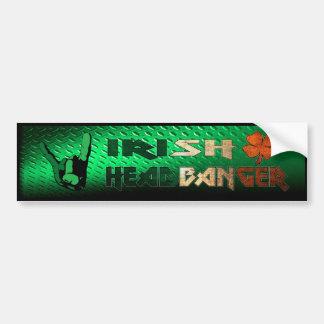 Irish Headbanger Bumper Sticker