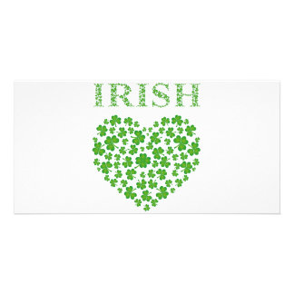 IRISH HEART PHOTO CARDS