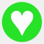 Irish Heart - Stickers