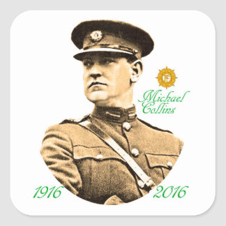 Irish Hero image for Square-Stickers-Glossy Square Sticker