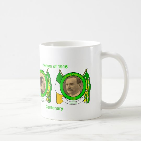 Irish Heroes image for Classic-White-Mug Coffee Mug