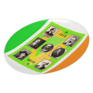 Irish Heroes image for Melamine-Plate Plate
