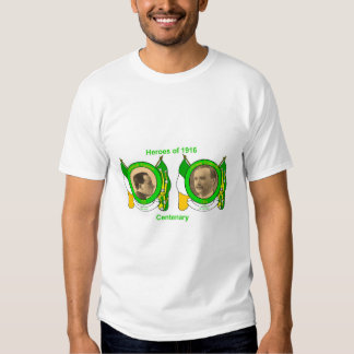 Irish Heroes image for Men's-T-Shirt-White Shirts
