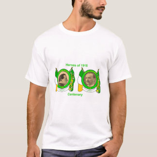 Irish Heroes image for Men's-T-Shirt-White T-Shirt