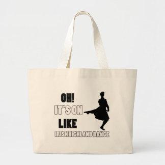 Irish Highland Dance Designs Tote Bag