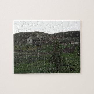 Irish Hills in San Luis Obispo, with Old Barn Jigsaw Puzzles