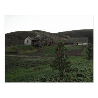 Irish Hills in San Luis Obispo, with Old Barn Post Cards
