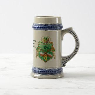 Irish History Shield All Styles View Story Below 18 Oz Beer Stein