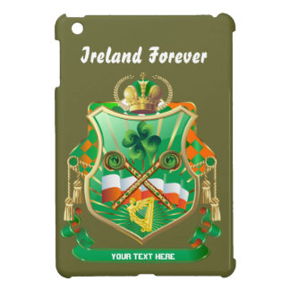 Irish History Shield View Story Below Cover For The iPad Mini