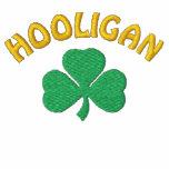 Irish Hooligan Black Polo Shirt Polo
