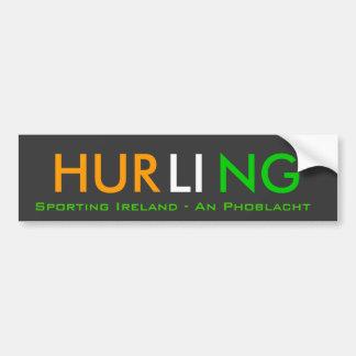 Irish Hurling Bumper Stickers