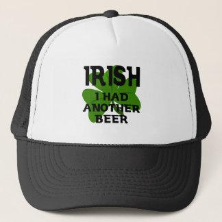 Irish I Had Another Beer Trucker Hat