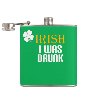 Irish I was Drunk - Flask