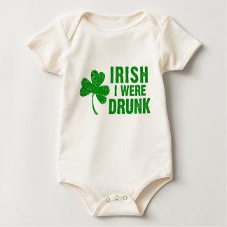 Irish I Were Drunk Bodysuit