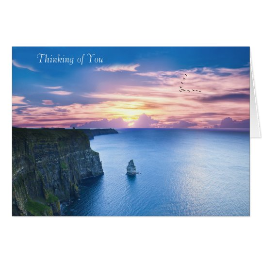 Irish image for Greeting-card Card