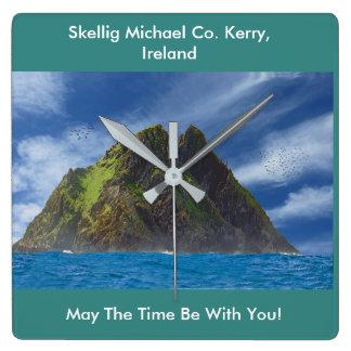 Irish image for  Square Wall Clock