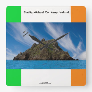 Irish image for Square-Wall-Clock Square Wall Clock