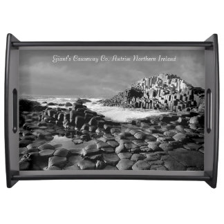 Irish Images for larrge Serving Tray, Black Serving Tray