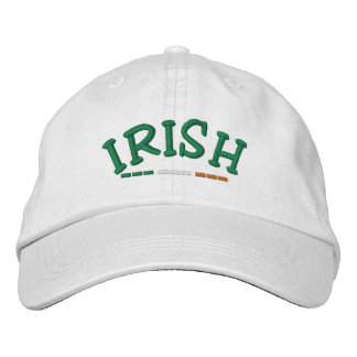 Irish Ireland Flag Embroidered Hats