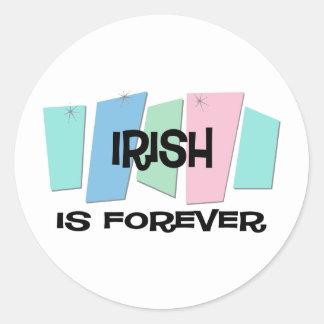 Irish Is Forever Sticker