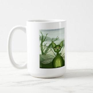 Irish Isles, Fantasy Fairy Kitty Coffee Mug