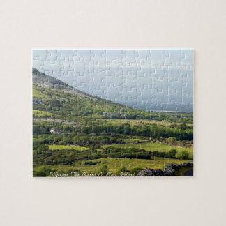 Irish jigsaw, Kilfenora, Co. Clare, Ireland Jigsaw Puzzles