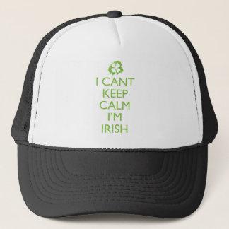 Irish Keep Calm Trucker Hat