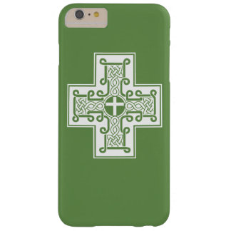 Irish Knot Celtic Cross Barely There iPhone 6 Plus Case