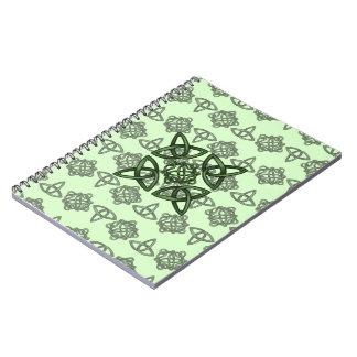 Irish Knot & Tri Designs Notebook
