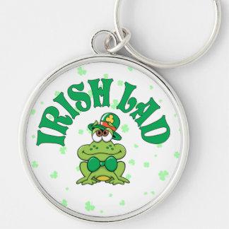 Irish Lad Frog Key Ring