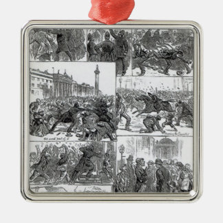 Irish Land League Agitation Christmas Ornament