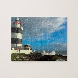 Irish landmark Image Photo-Puzzle-with-Gift-Box Puzzle