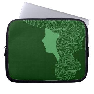 Irish Lass Computer Sleeves