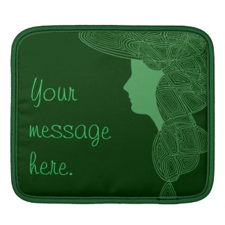 Irish Lass iPad Sleeves