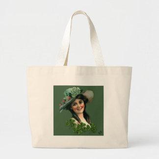 Irish Lass Jumbo Tote Bag