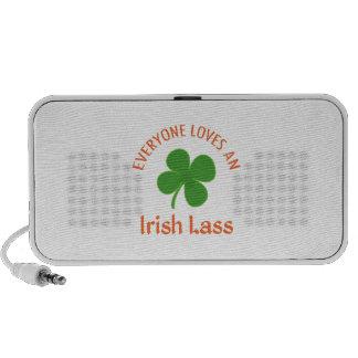 IRISH LASS PORTABLE SPEAKER
