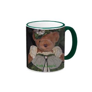 Irish Lassie Bear Ringer Mug